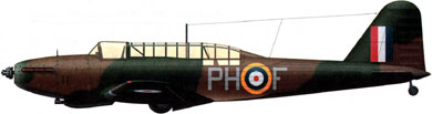 Profil couleur du Fairey  Battle