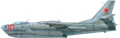 Profil couleur du Beriev Be-10 Mallow