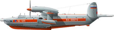 Profil couleur du Beriev Be-12 Chaika 'Mail'
