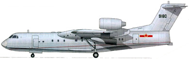 Profil couleur du Beriev Be-200