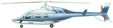 Profil couleur du Bell 222 / 230 / 292 / 430