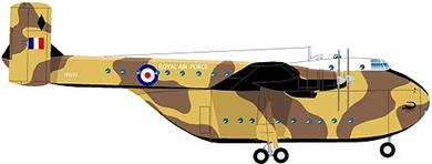 Profil couleur du Blackburn B-101 Beverley