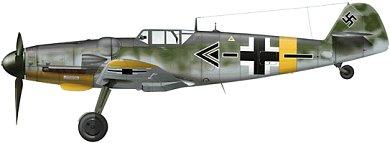 Profil couleur du Messerschmitt Bf 109