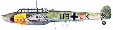 Profil couleur du Messerschmitt Bf 110