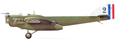 Profil couleur du Blériot 127