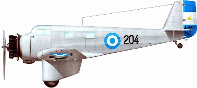 Profil couleur du FMA AeMB.2 Bombi