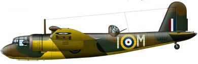 Profil couleur du Blackburn B-26 Botha