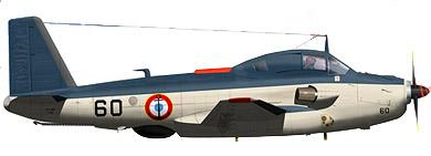 Profil couleur du Breguet Br.1050 Alizé