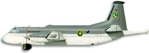 Profil couleur du Breguet Br.1150 Atlantic