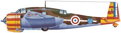 Profil couleur du Breguet Br.693