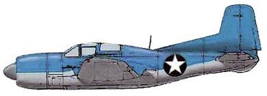 Profil couleur du Douglas BTD Destroyer