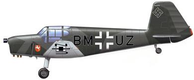 Profil couleur du Bücker Bu 181 Bestmann