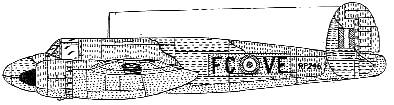 Profil couleur du Bristol  Buckmaster