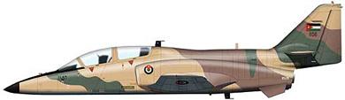 Profil couleur du CASA C-101 Aviojet 'Mirlo'