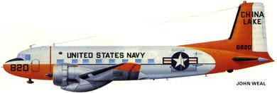 Profil couleur du Douglas C-117 / R4D-8