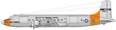 Profil couleur du Douglas C-118 Liftmaster