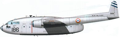 Profil couleur du Fairchild C-119 Flying Boxcar