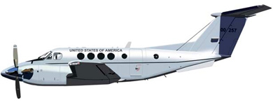 Profil couleur du Beechcraft C-12 Huron