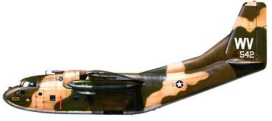 Profil couleur du Fairchild C-123 Provider