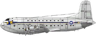 Profil couleur du Douglas C-124 Globemaster II