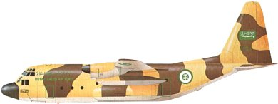Profil couleur du Lockheed C-130 Hercules