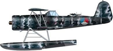 Profil couleur du Fokker C XIV-W