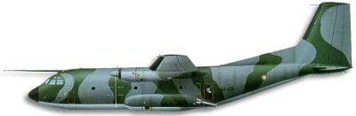 Profil couleur du Aérospatiale-MBB C-160 Transall