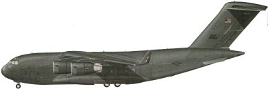Profil couleur du McDonnell-Douglas C-17 Globemaster III