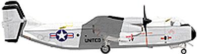 Profil couleur du Grumman C-2 Greyhound