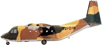 Profil couleur du CASA C-212 Aviocar