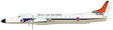Profil couleur du Fairchild C-26 Metroliner