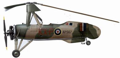 Profil couleur du Cierva C.30