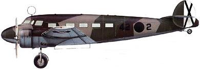 Profil couleur du Lockheed C-36/UC-40 Electra