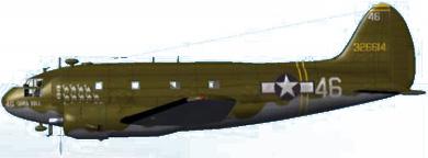 Profil couleur du Curtiss C-46 Commando