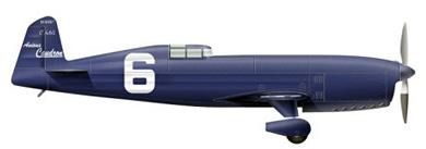 Profil couleur du Caudron C.430/C.450/C.460 Rafale
