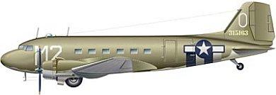 Profil couleur du Douglas C-47 Skytrain