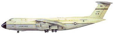 Profil couleur du Lockheed C-5 Galaxy