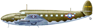 Profil couleur du Lockheed C-60 Lodestar