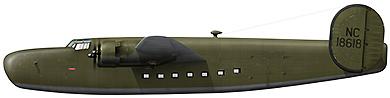 Profil couleur du Consolidated C-87/C-109 Liberator Express