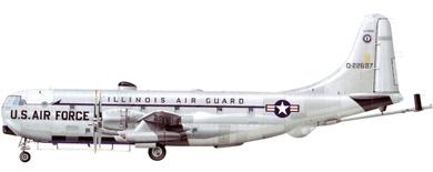 Profil couleur du Boeing C-97 / KC-97 Stratofreighter