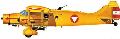 Profil couleur du Caproni Ca.133