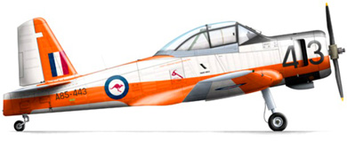 Profil couleur du Commonwealth CA-25 Winjeel