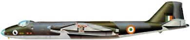 Profil couleur du English Electric  Canberra