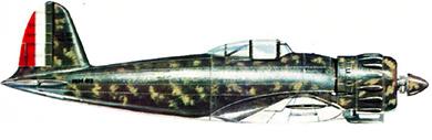 Profil couleur du Caproni F.5