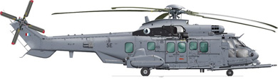 Profil couleur du Eurocopter EC 725 RESCO Caracal