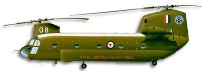 Profil couleur du Boeing Vertol CH-47 Chinook