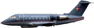 Profil couleur du Canadair / Bombardier Challenger