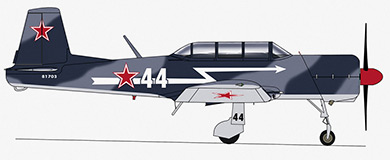 Profil couleur du Nanchang CJ-6
