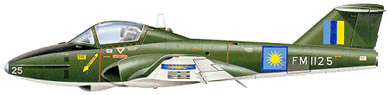 Profil couleur du Canadair CL-41/CT-114 Tutor