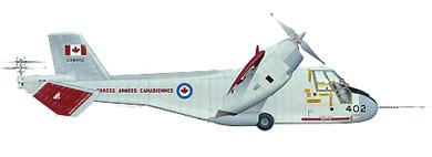 Profil couleur du Canadair CL-84 Dynavert